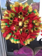 golden Apple wreath in Fort Bragg, North Carolina