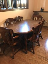 DINING TABLE 6 CHAIRS. in Naperville, Illinois