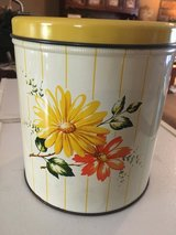 1950's Decoware Tin Canister in Clarksville, Tennessee