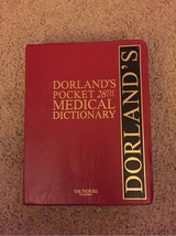 Dorland's Pocket Medical Dictionary in Travis AFB, California