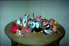 Beanie Baby Birds in Tinley Park, Illinois