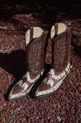 Fancy Mexican Dress Boots in Alamogordo, New Mexico