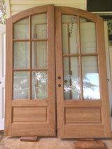 Solid Oak Doors - arched in Perry, Georgia