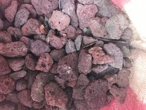 Lava rock for flower beds in Spring, Texas
