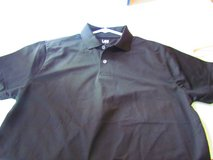 Black Polo Shirts Large NEW in Lockport, Illinois