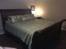 King size sleigh bed in Conroe, Texas