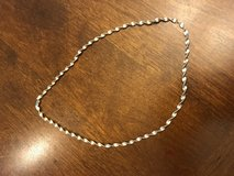 18 inch Silver Rope Necklace in Bolingbrook, Illinois