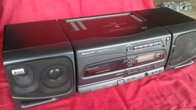 Panasonic portable stereo component cd system RX-E300 ( vintage boombox Getto Blaster ) in Oswego, Illinois