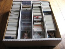 box of cards in Travis AFB, California