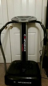 Confidence Fitness Whole Body Vibration Plate Trainer Machine with Arm Straps in Fort Benning, Georgia