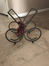 Wine rack in Fort Riley, Kansas