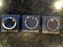Set of 3 Alex and Ani braclets in Joliet, Illinois