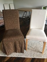 Slipcovers Custom Made (Parsons Chair Size) set of 4 **CHAIRS NOT INCLUDED in Fort Campbell, Kentucky