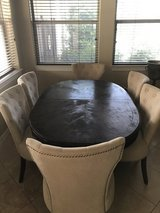 Solid Wood Table with Leaf in Baytown, Texas