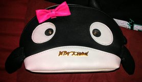 Betsey Johnson Whale Cosmetic Purse in El Paso, Texas