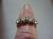 DIAMOND WEDDING RINGS SET; 1-CT EA.; MATCHED; NEW in Fort Leonard Wood, Missouri