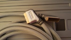 BELKIN 24k GOLD SCARD CABLE TV DVD 5M in Lakenheath, UK