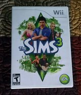 The Sims 3 Nintendo Wii Video Game Complete 2010 in Lawton, Oklahoma