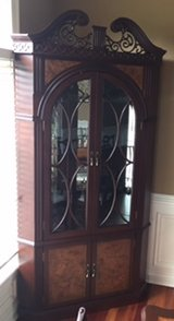 CORNER CHINA CABINET in Oswego, Illinois