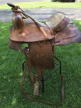 Horse saddle in Chicago, Illinois