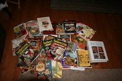 Over Thirty 30 Assorted Cookbooks in Camp Lejeune, North Carolina