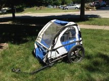 Bike trailer for kids in Naperville, Illinois