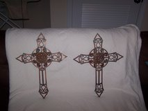 Pair of Crosses in Clarksville, Tennessee