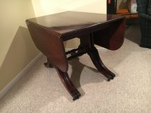 "Vintage Mahogany Table with 4-14"" Leaves in Naperville, Illinois"