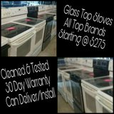 Glass Top Stoves in Wilmington, North Carolina