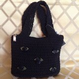 Woman's evening crochet purse in Yucca Valley, California