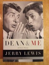 Dean & Me by Jerrry Lewis w Dean Martin Hard Cover Book w Dust Jacket. in Yorkville, Illinois