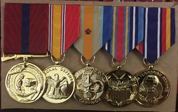 Military Medals in Camp Pendleton, California