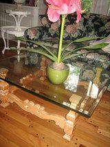 country french pickled pine coffee table in Naperville, Illinois