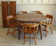 MAPLE TABLE  & CHAIRS in Joliet, Illinois