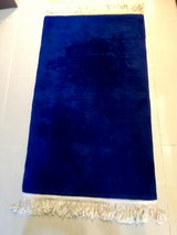 Hong Kong Wool Rug -Blue in Okinawa, Japan