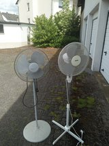 2 Fans 220v stand up $10.00 Ea. in Spangdahlem, Germany