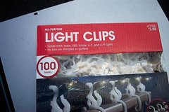 ALL PURPOSE LIGHT CLIPS (240 PCS) in Bartlett, Illinois