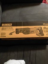 Brand new 20v sawzaw in box in Tacoma, Washington