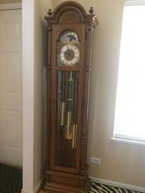 Antique ETHAN ALLEN grandfather clock! Beautiful chimes!! in St. Charles, Illinois