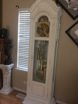 Antique RIDGEWAY white rare & unique grandfather clock!! AMAZING CHIMES!! in St. Charles, Illinois