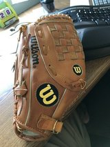 Wilson baseball glove (right handed catch / left handed throw) in Naperville, Illinois