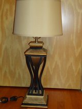 tall heavy lamp & shade in Glendale Heights, Illinois