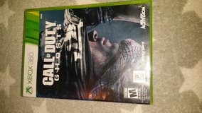 Xbox 360 Call of Duty ghosts in Fort Campbell, Kentucky