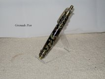 GRENADE PEN ANTIQUE BRASS W/CAMOUFLAGE in Hopkinsville, Kentucky
