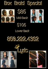 GET YOUR BACK TO SCHOOL BRAIDS TODAY in Camp Lejeune, North Carolina