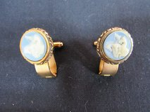 Dante Museum Masterpiece Cuff Links Jewelry Collection Vintage 1960's Designer Dante Incolay Car... in Cherry Point, North Carolina