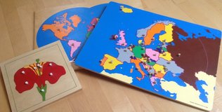 Montessori Style puzzles in Ramstein, Germany