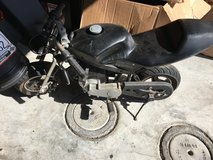 50cc little motorcycle in Camp Pendleton, California