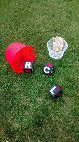 Left, Center, Right yard dice in St. Charles, Illinois