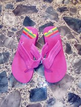 New Pink Flip-flops Size 7-8 in Leesville, Louisiana